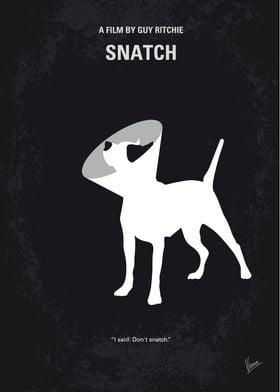 No079 My Snatch minimal movie poster Unscrupulous boxi ...