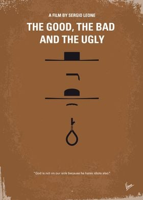 No090 My The Good The Bad The Ugly minimal movie poster ...