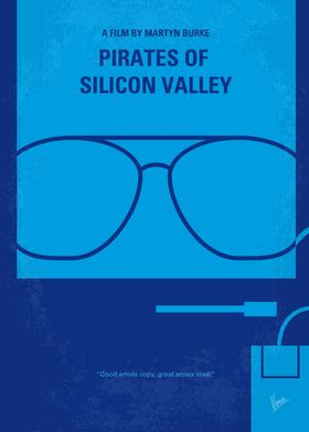 No064 My Pirates of Silicon Valley minimal movie poster ...