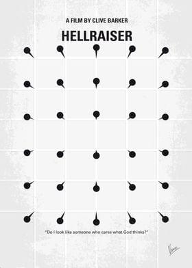 No033 My HELLRAISER minimal movie poster An unfaithful ...