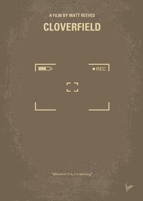 No203 My Cloverfield minimal movie poster Revolves aro ...