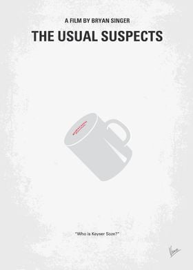 No095 My The usual suspects minimal movie poster A boa ...