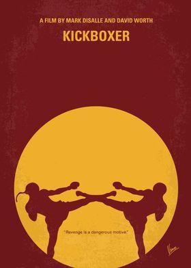 No178 My Kickboxer minimal movie poster Kurt Sloane mu ...