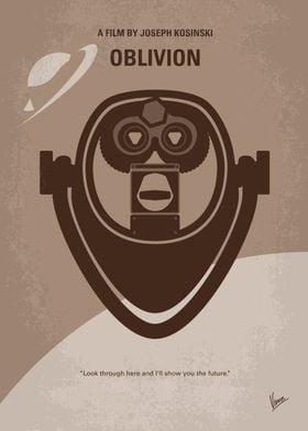 No217 My Oblivion minimal movie poster A veteran assig ...