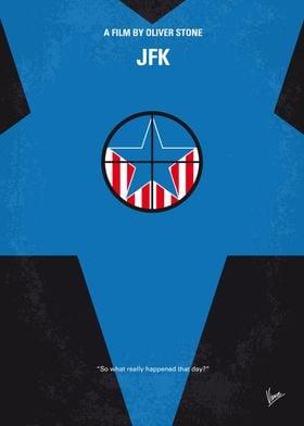No111 My JFK minimal movie poster A New Orleans DA dis ...