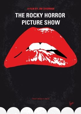 No153 My The Rocky Horror Picture Show minimal movie po ...