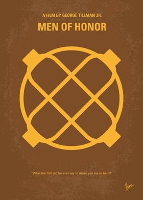 No099 My Men of Honor minimal movie poster The story o ...