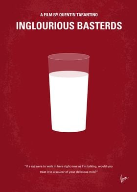 No138 My Inglourious Basterds minimal movie poster In ...