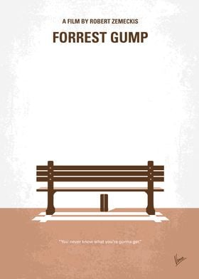 No193 My Forrest Gump minimal movie poster Forrest Gum ...