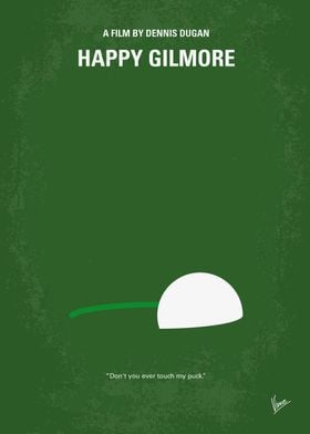 No256 My Happy Gilmore minimal movie poster A rejected ...