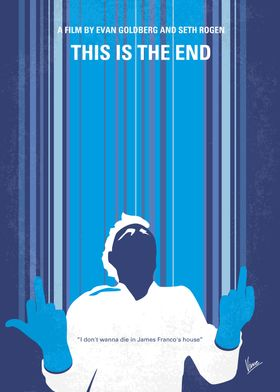 No220 My This is the end minimal movie poster While at ...