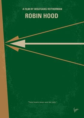 No237 My Robin Hood minimal movie poster The story of ...