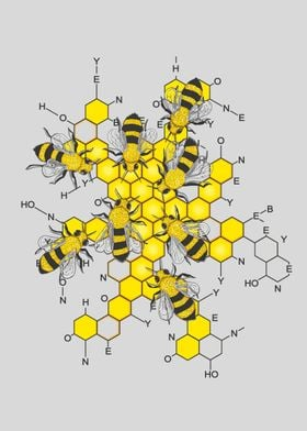 Science of honey and bees