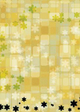 Flower Meadow ~ Flowers climbing along yellow bricks. A ...