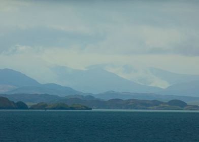 Leaving Stornoway by Boat