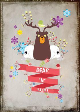 Bear 'n' Skull