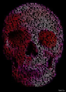 Non, Je Ne Regrette Rien (No, I Regret Nothing) Skull c ...