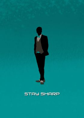Stay Sharp (blue)