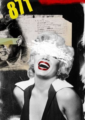 Public Figures Collection-- Marilyn by Elo