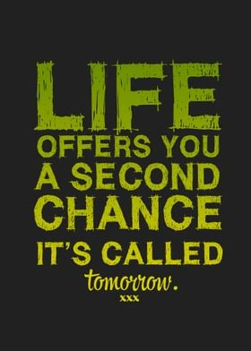 Second Chance.