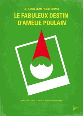 No311 My Amelie minimal movie poster Le fabuleux desti ...