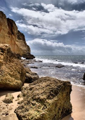 portugal beachrock
