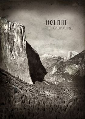 Yosemite Valley in Yosemite National Park.