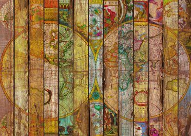 Around the World in Thirteen Maps