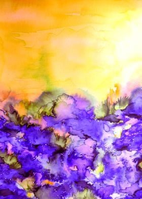Into Eternity - Yellow and Lavender