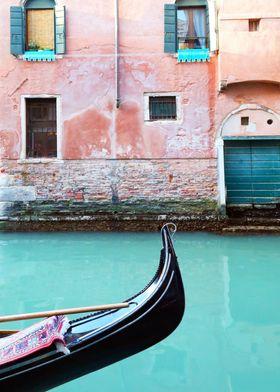 Venice in Aqua and Coral