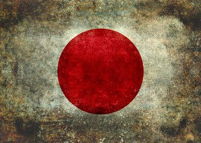 The national flag of Japan is a white rectangular flag  ...