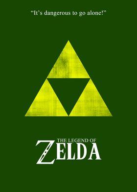 Minimalist Zelda