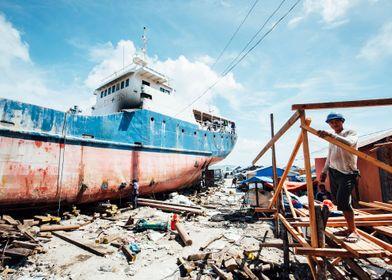 Tacloban harbour