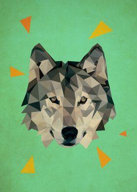 triangle wolf