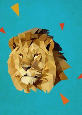 trianle lion