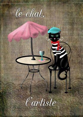 Le Chat, L'artiste