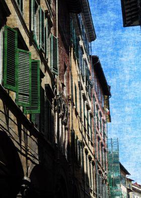 Streets of Pisa Italy