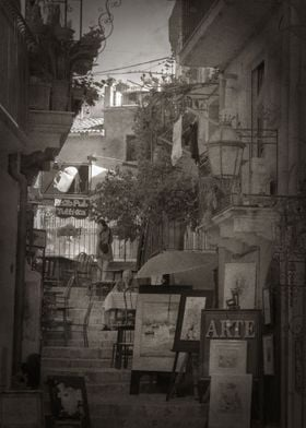 Italy streets vintage look