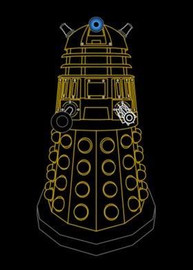 Neon Dalek