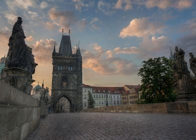 Charles Bridge and the Tower Gate