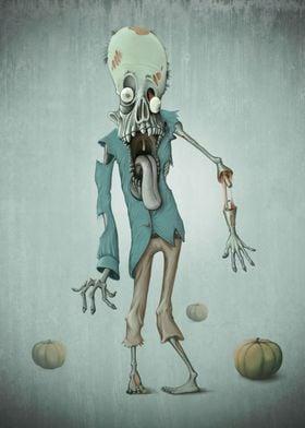 Zombie - Halloween creature series