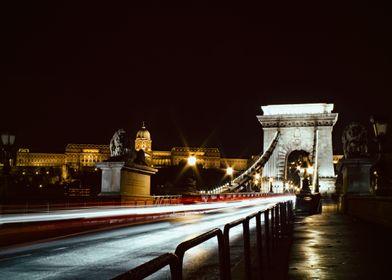 The Chain Bridge of Budapest