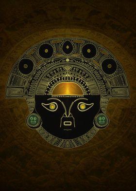 God Sun mask (INTI)