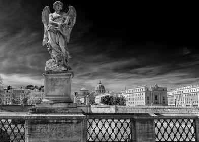 Angel on the bridge