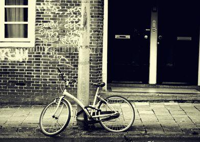 Bike in the street