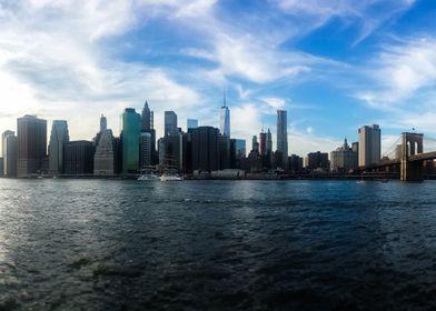 New York Skyline - Color
