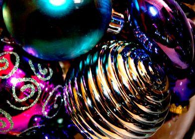 Jewel-Toned Ornaments
