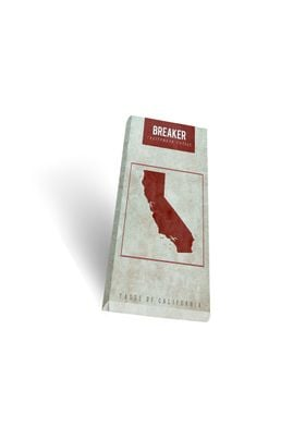 'BREAKER' chocolate packaging influenced by Hollister