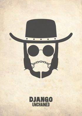 'Django Unchained' Movie Poster