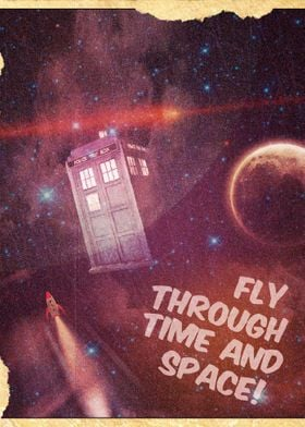 Fly Through Time and Space